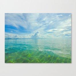 Sulu Sea Canvas Print