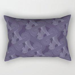 Quarian Swirls Rectangular Pillow