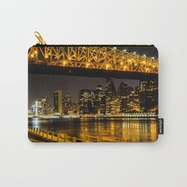 Manhattan at Night Carry-All Pouch