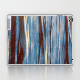 Dawn in the Winter Forest #impressionism #abstract #moods #society6 Laptop & iPad Skin