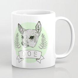 Dat Deer, Doe Coffee Mug