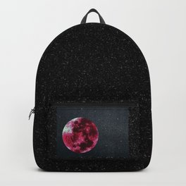 blood moon and star dust Backpack