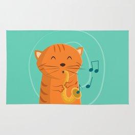 Jazz Cat Rug