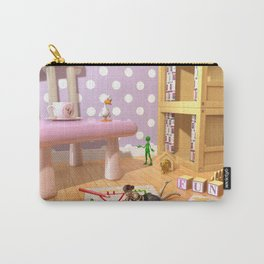 The Fun Corner - Where The Toys Live - Art for kids Carry-All Pouch