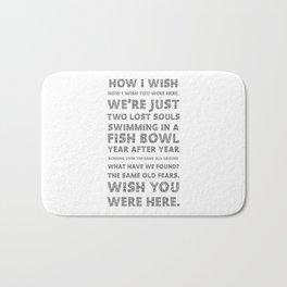 Wish you were here Bath Mat