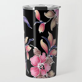 flower patterns Travel Mug