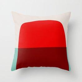 Mid Century Minimal 7 Throw Pillow