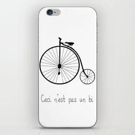 Dyke in bike iPhone Skin