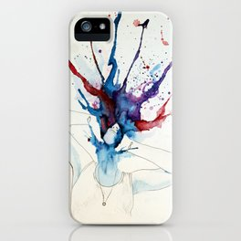 Overstimulated iPhone Case