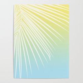 Pastel Palm 03 Poster
