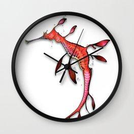 Weedy Seadragon Wall Clock