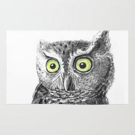Owl portrait Rug