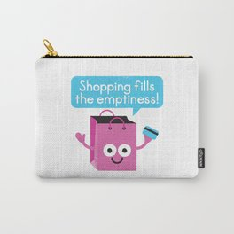 Retail Therapy Carry-All Pouch