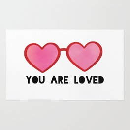 You Are Love Rug