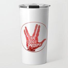 Live Long and Prosper Spock Travel Mug