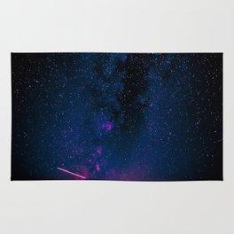 Electric Desert Starry Night Rug