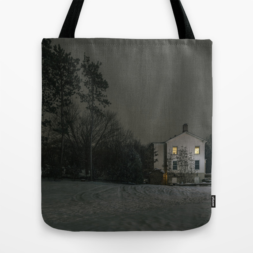 The House By The Cemetery Tote Bag by Peterbaker TBG967316