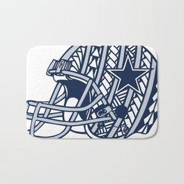 Polynesian Style Cowboys Bath Mat