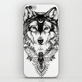 Earth Wolf (Luna) iPhone Skin