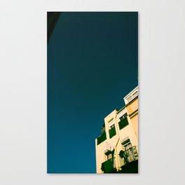 Los tejados (roofs) Canvas Print