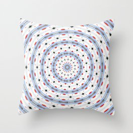 SNOW CHAIN Throw Pillow