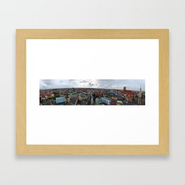 View from St Peter's Church, Munich, Germany Framed Art Print