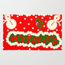 Merry Christmas Rug