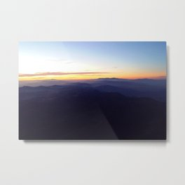 Smoky mountain sunrise Metal Print
