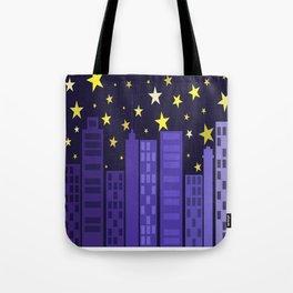 Triadic City Tote Bag