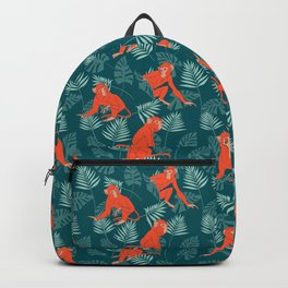 Monkey Forest Backpack