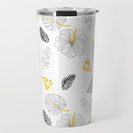 Leaves Pattern Travel Mug