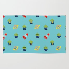 Aliens & Pizza Planet,Toy Story. Rug