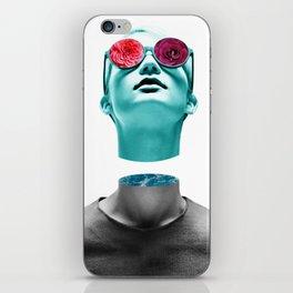 Detached head iPhone Skin
