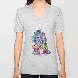 R2-D2 Unisex V-Neck