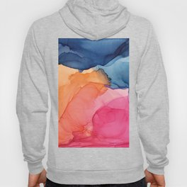 Tropical Bliss - Alcohol Ink Painting Hoody