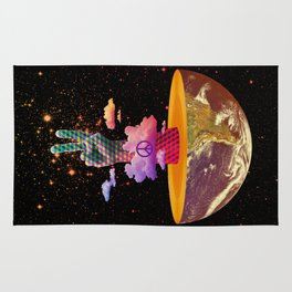 Peace Planet Rug