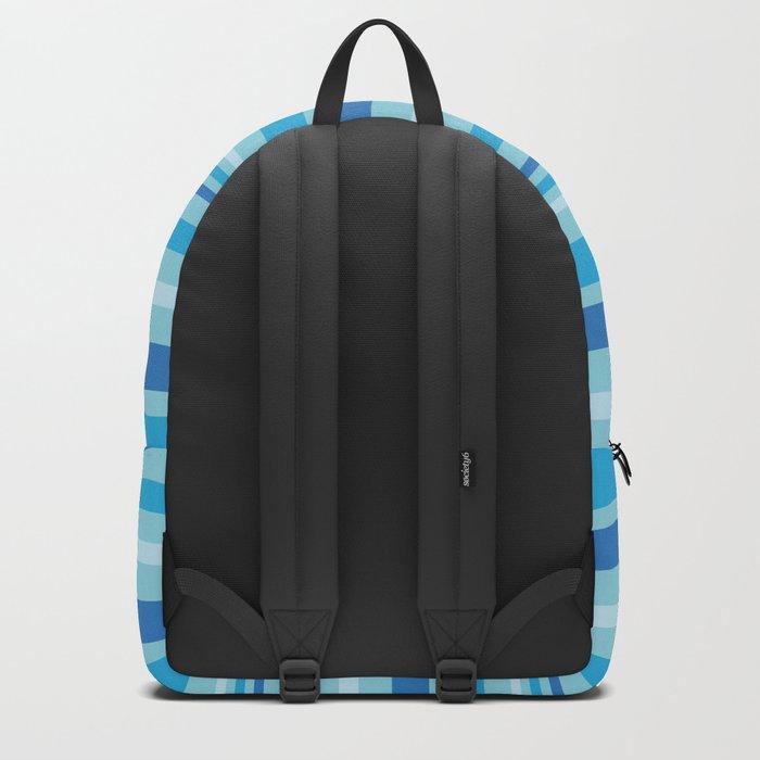 Bright Blue Hues Backpack