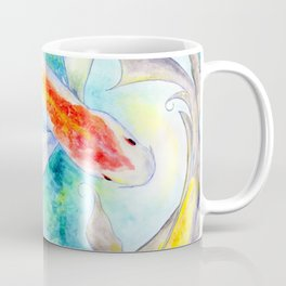 Fire Koi Coffee Mug
