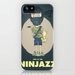 Ninjazz iPhone Case
