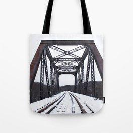 Winter Trestle Tote Bag