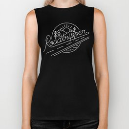 Roadtripper - white Biker Tank