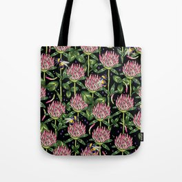 night work in the garden Tote Bag