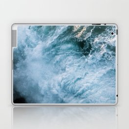 Wave in Ireland during sunset - Oceanscape Laptop & iPad Skin