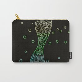 Mermaid In The Dark Carry-All Pouch