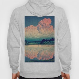 Admiring the Clouds in Kono Hoody