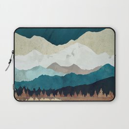 Fall Forest Night Laptop Sleeve