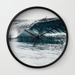 Liquid glass Wall Clock