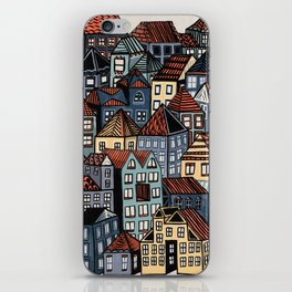Little Town iPhone Skin