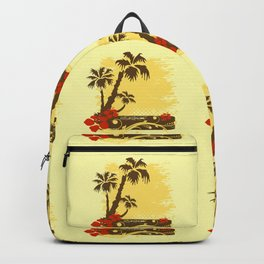 Tropical summer Backpack