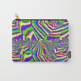 Diamond Stripes Carry-All Pouch